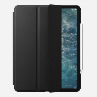 "Etui Apple iPad Pro 12.9"" (2020) Nomad Rugged Folio Cuir Noir"