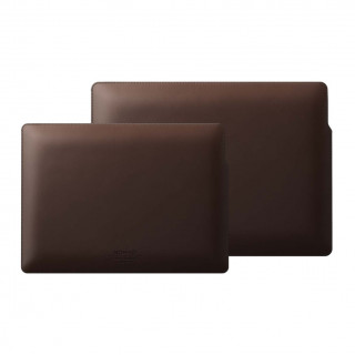 "Housse MacBook Pro 16"" Nomad Cuir Horween Marron"