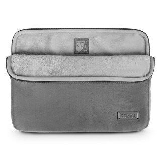 "Housse Ordinateur 13""-14"" & Apple MacBook Pro 15"" (fin 2016+) Port Designs Milano Gris"