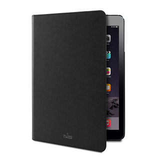 Etui Apple iPad Air 2 Puro Booklet Slim Noir