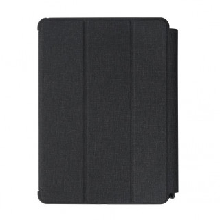"Etui Apple iPad 9.7"" (2017) Folio Muse QDOS Gris Anthracite"