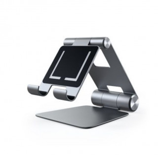 Support Smartphone/Tablette Pliable Satechi Gris Sidéral