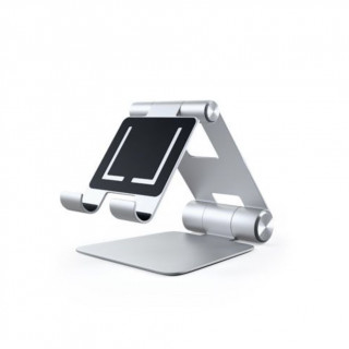 Support Smartphone/Tablette Pliable Satechi Argent
