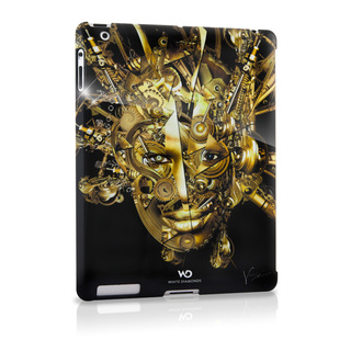 "Coque iPad 2 White Diamonds ""The mechanist"" Or"