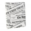 "Etui Apple iPad 2 & Nouvel iPad / Nouvel iPad Retina ""Newspaper"" Akashi"