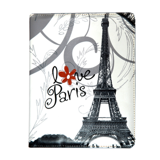 "Etui Apple Nouvel iPad / Nouvel iPad Retina & iPad 2 ""I love Paris"" by Akashi"