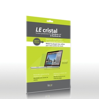 "Protection écran MacBook 13"" Be.ez ""Le Cristal"" Matt"