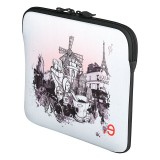 "Housse Be.ez ""La robe iPad"" I lov Paris Montmartre pour Apple iPad, iPad 2 & Nouvel iPad / Nouvel iPad Retina"