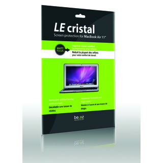 "Protection Ecran MacBook Air 11"" Be.ez ""Le Cristal"" Matt"