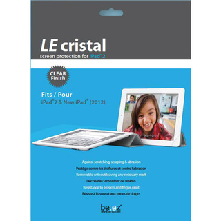 "Protection écran Apple iPad 2 & Nouvel iPad / Nouvel iPad Retina Be.ez ""Le cristal"" Clear"