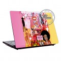 "Sticker Coovz de personnalisation Netbook PC 10,9"" ""Disco"""