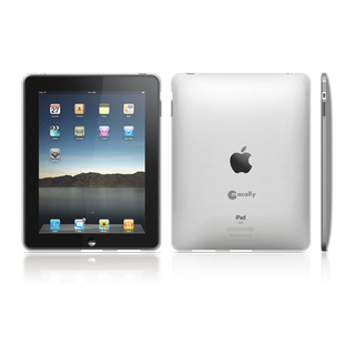 Coque de protection Apple iPad Macally en Crystal flexible