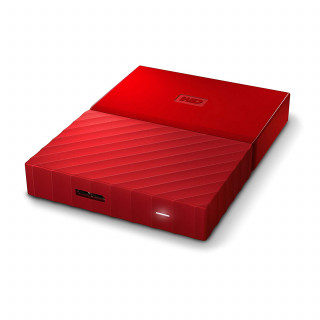 "Disque Dur Western Digital My Passport 2To 2.5"" Externe Rouge"