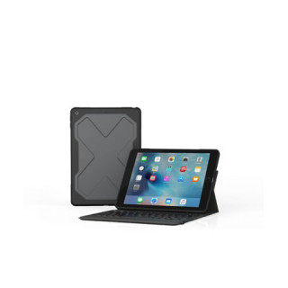 "Etui Clavier Bluetooth Rugged Messenger iPad 9.7"" (2017) ZAGG"