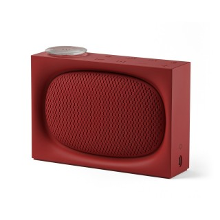 Radio Enceinte ONA Lexon Bluetooth Rouge