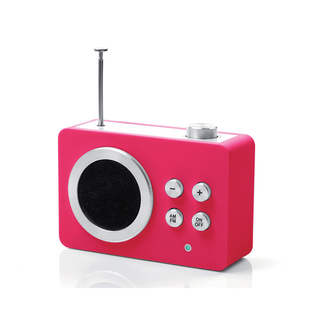 Radio AM / FM Mini Dolmen Rose Lexon LA69P5