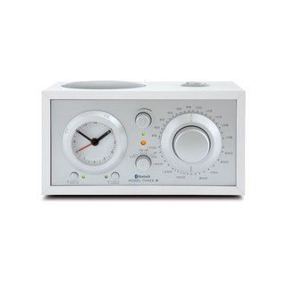 Radio Réveil Model Three BT Bluetooth Tivoli Audio Blanc/Argent
