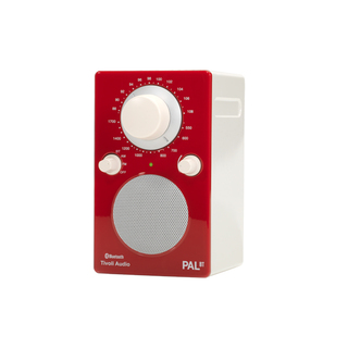 Radio Portative PAL BT Tivoli Rouge/Blanche Bluetooth