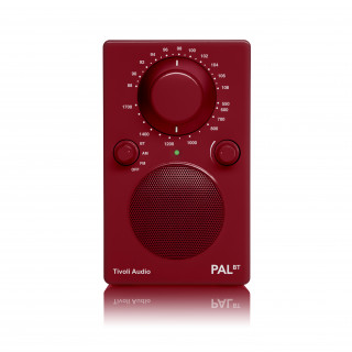 Radio Portative PALBT Tivoli Rouge Bluetooth