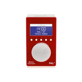 Radio DAB/DAB+/FM PAL+BT Tivoli Rouge/Blanc Bluetooth