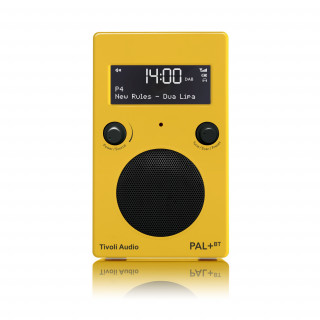 Radio Portative PAL+BT Tivoli Jaune/Noir Bluetooth