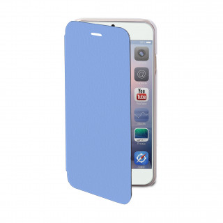 Etui Folio Apple iPhone 5/5S/SE Akashi Bleu