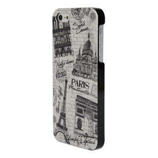 "Coque Apple iPhone 5/5S/SE ""Paris Monuments 2"" Akashi"