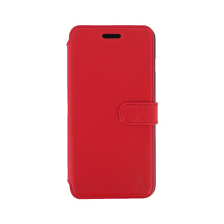 Etui Cuir Folio Apple iPhone 6/6s Akashi Rouge Vintage