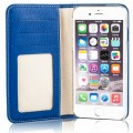 Etui Cuir Apple iPhone 6/6s Issentiel Exclusive Bleu Royal