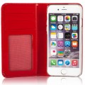 Etui Cuir Apple iPhone 6/6s Issentiel Exclusive Rouge Verni