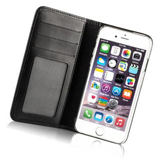 Etui Cuir Apple iPhone 6 Plus/6s Plus Issentiel Exclusive Noir