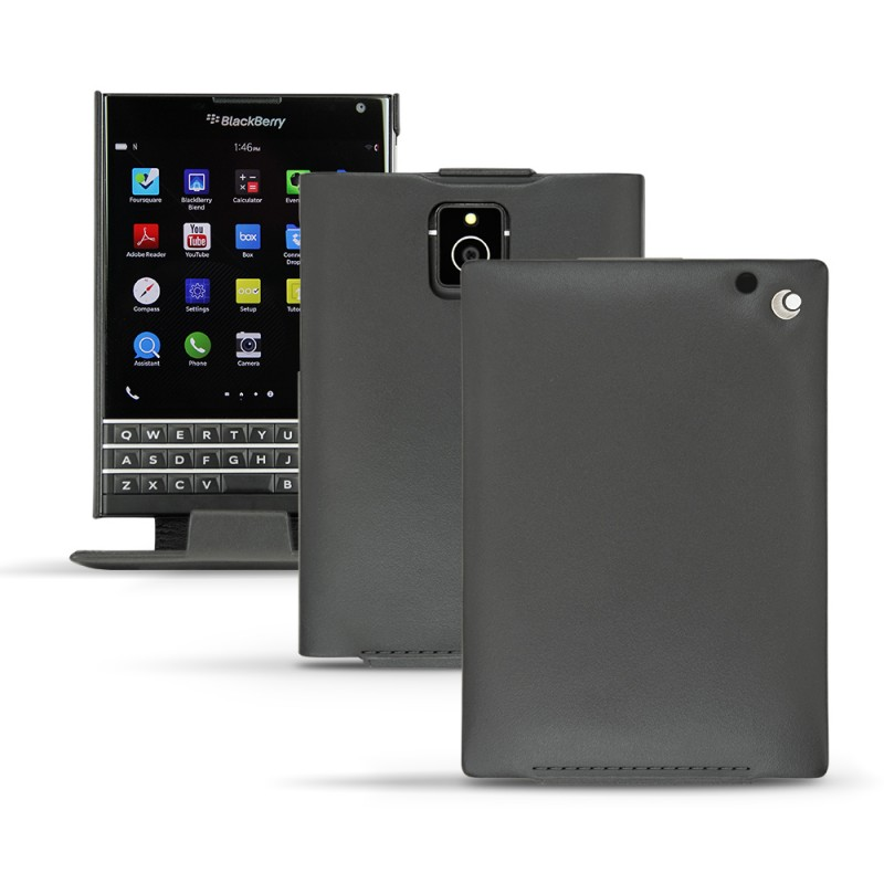 Noreve housse cuir blackberry passport noreve tradition for Housse blackberry