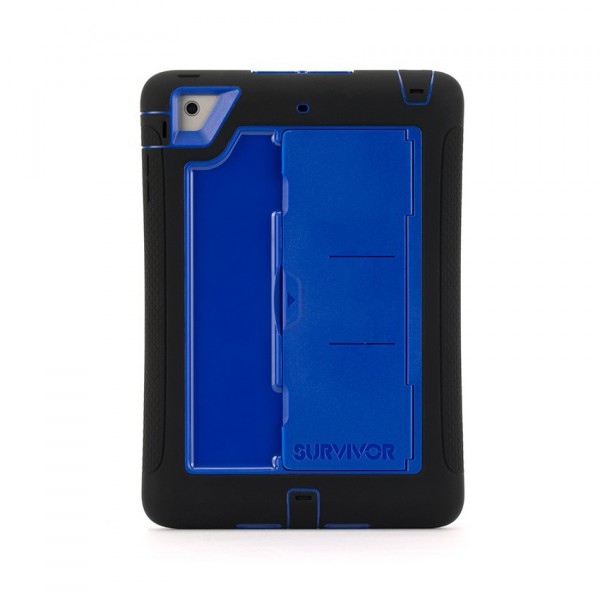 ordinateurs accessoire griffin gb coque anti choc survivor slim apple ipad mini retina  bleue