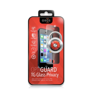 Vitre Protection Ecran Samsung Galaxy S5 Optiguard Glass Privacy QDOS