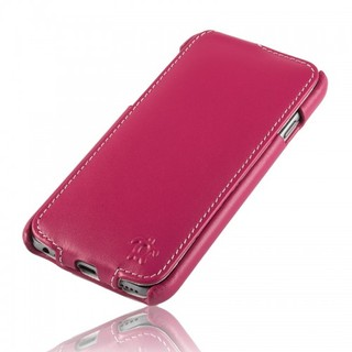 Etui Cuir Apple iPhone 6 Plus/6s Plus Issentiel Prestige Ultra Mince Fuchsia