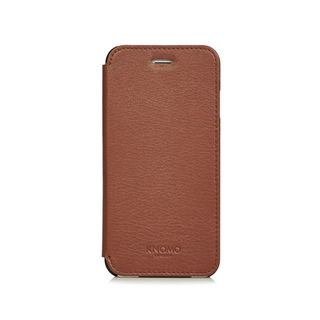 Etui Folio Cuir iPhone 6/6s Knomo Marron