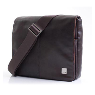 "Sacoche Cuir MacBook Air 11"" Knomo Kilkenny Marron"