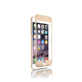 Vitre Protection Ecran iPhone 6 Plus/6s Plus Optiguard Glass Titanium Or QDOS