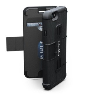 Etui Renforcé Folio Apple iPhone 6/6s UAG Noir