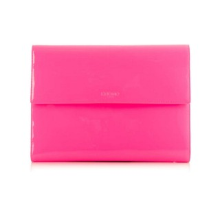 "Housse Organiseur Knomad iPad Air/Pro 9.7"" Cuir Knomo Rose Fluo"