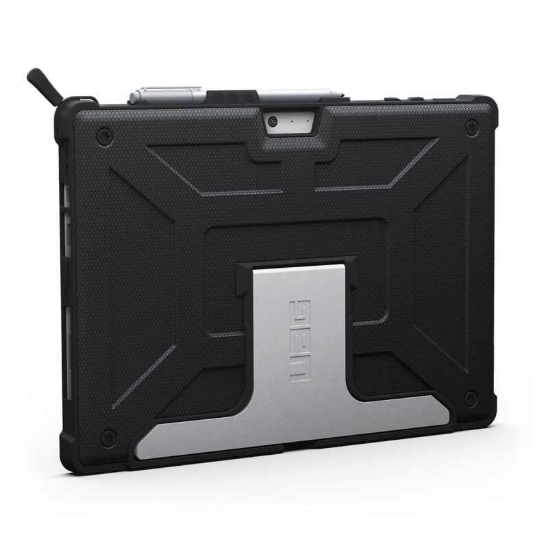 uag coque microsoft surface pro 4 uag composite noir sfpro4blk accessoires ordinateurs. Black Bedroom Furniture Sets. Home Design Ideas