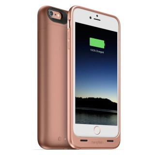Coque Batterie Apple iPhone 6 Plus/6s Plus Juice Pack Mophie Or Rose