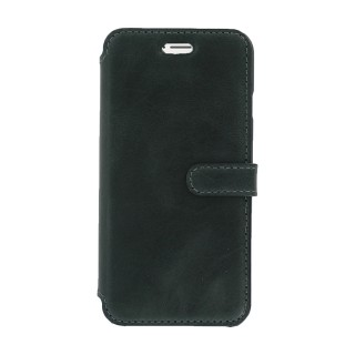 Etui Cuir Folio Apple iPhone 7/8 Akashi Noir Vintage