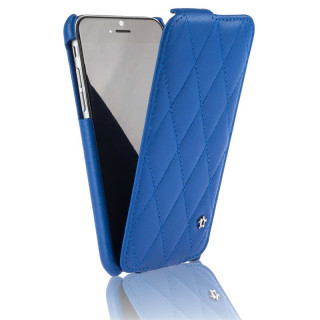 Etui Cuir Apple iPhone 7/8 Issentiel Cosy Bleu Royal