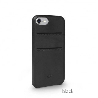 Coque iPhone 7/8 Twelve South Relaxed Cuir Noir