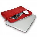"Housse Ordinateur 13""-14"" & Apple MacBook Pro 15"" (2016) Port Designs Milano Rouge"