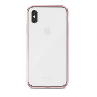 Coque iPhone X Vitros Moshi Rose
