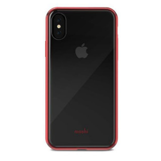 Coque iPhone X Vitros Moshi Rouge
