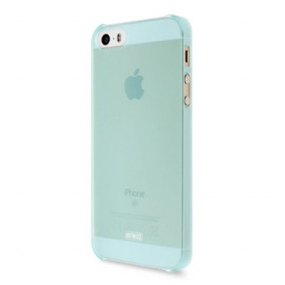 Coque iPhone 5/5S/SE Artwizz Rubber Clip Menthe