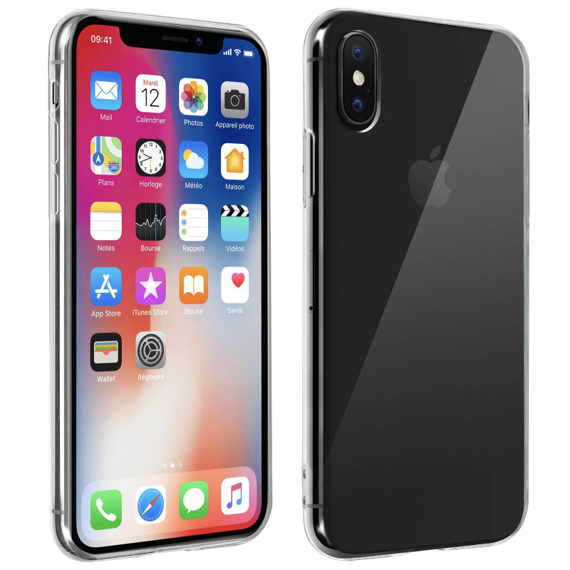 coque iphone xs rigide transparente